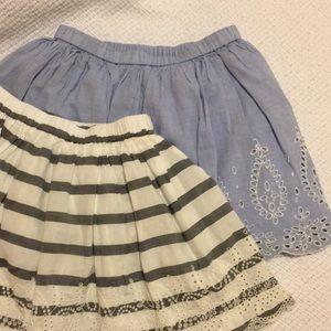 2 Gap skirts bundle
